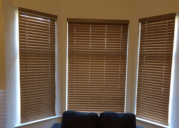 WOODEN VENETIAN BLINDS WITHOUT TAPES