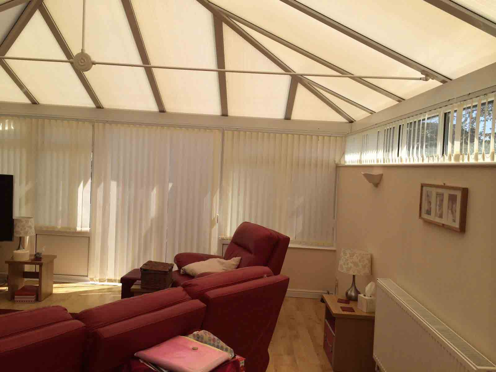 Blackout Conservatory Blinds