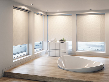 Suitable Bathroom Blinds Roman Blinds Roller Blinds